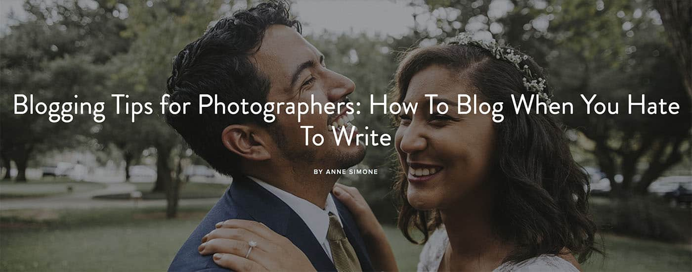 Learn To Blog with ShootProof