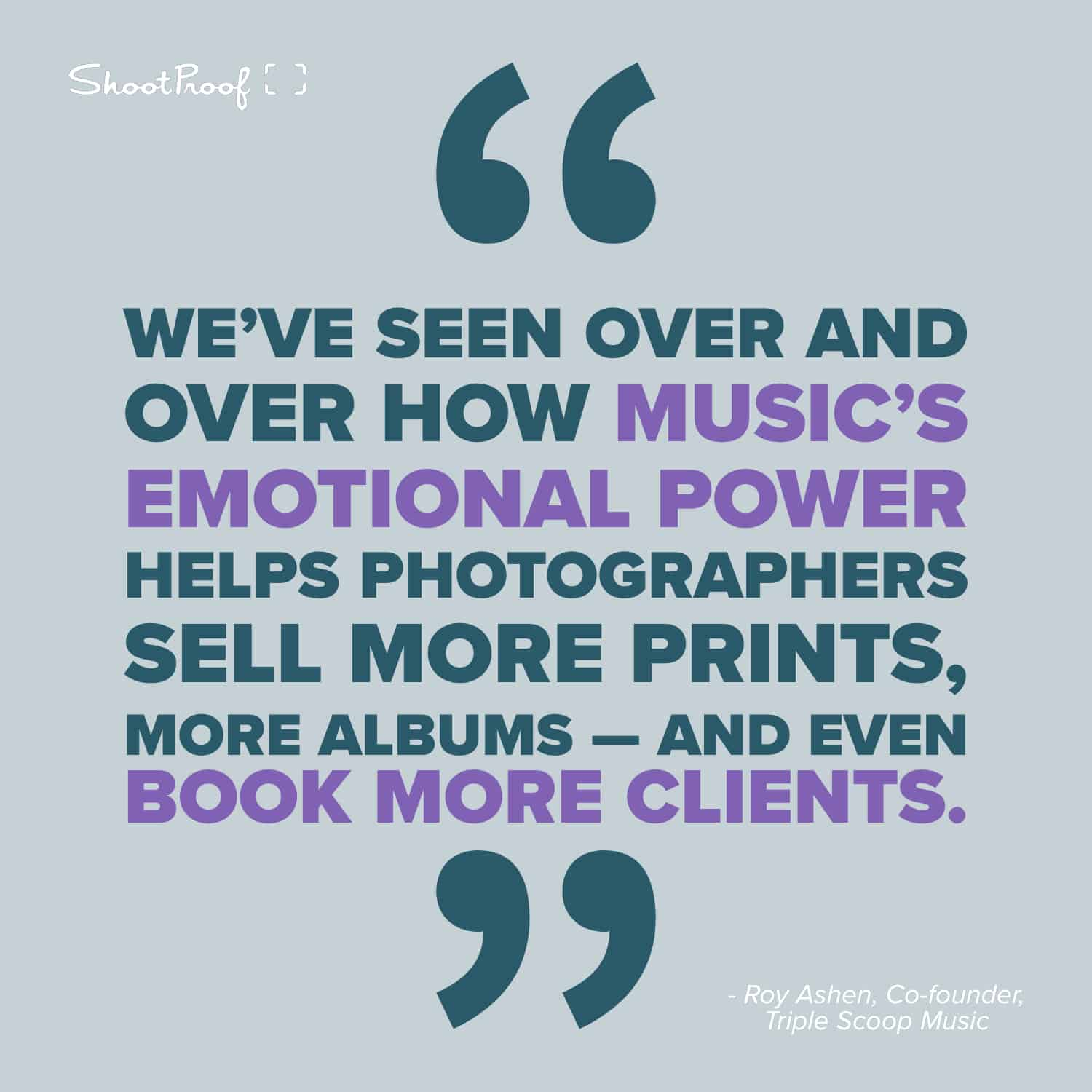 Print Sales Soar When You Pair Your Photos With Powerful Music