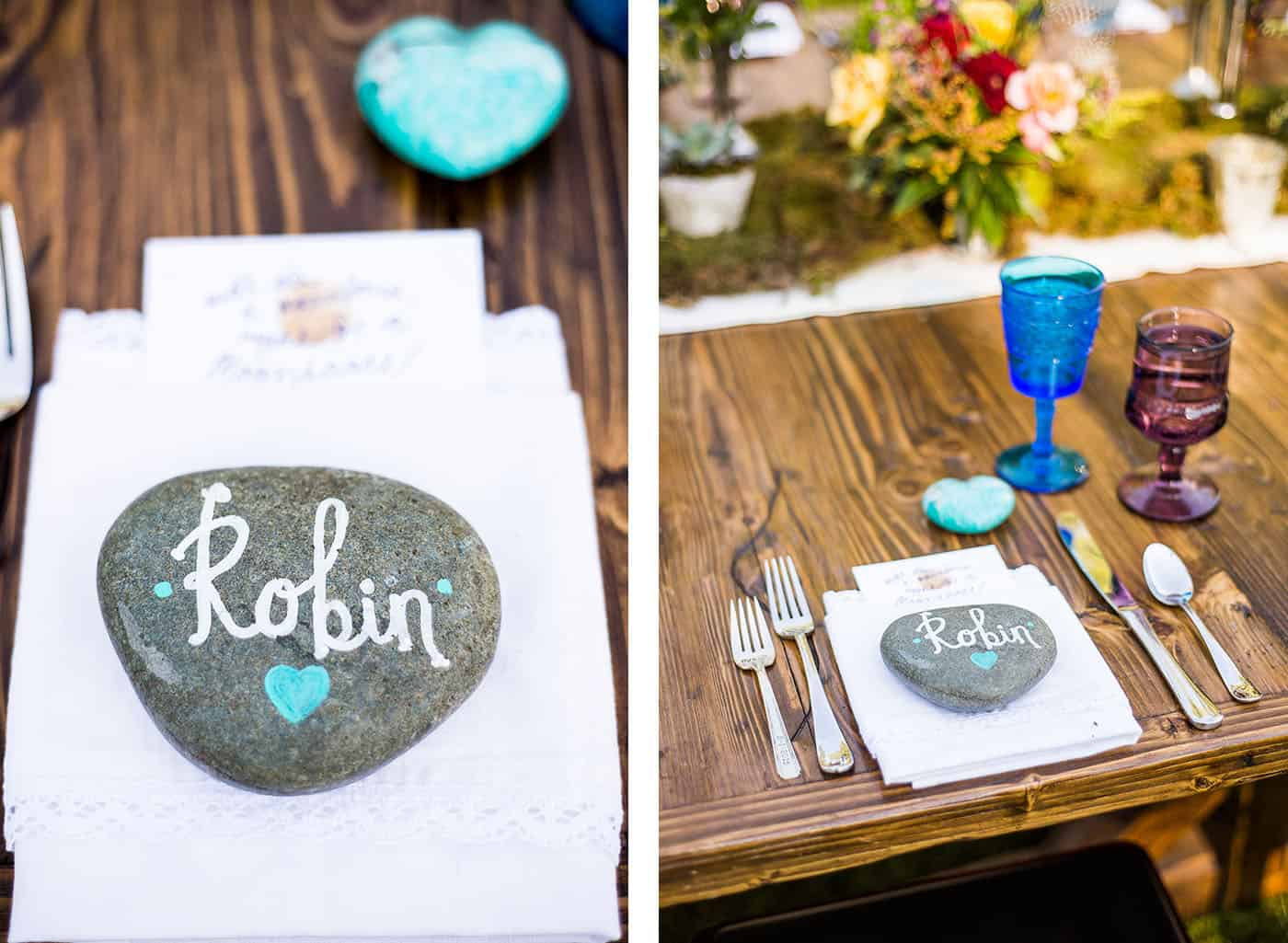 how to photograph a place setting