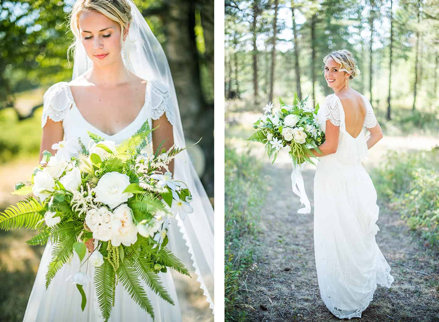 how to photograph a bridal bouquet