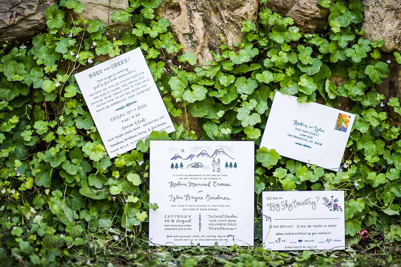 how to photograph wedding invitations