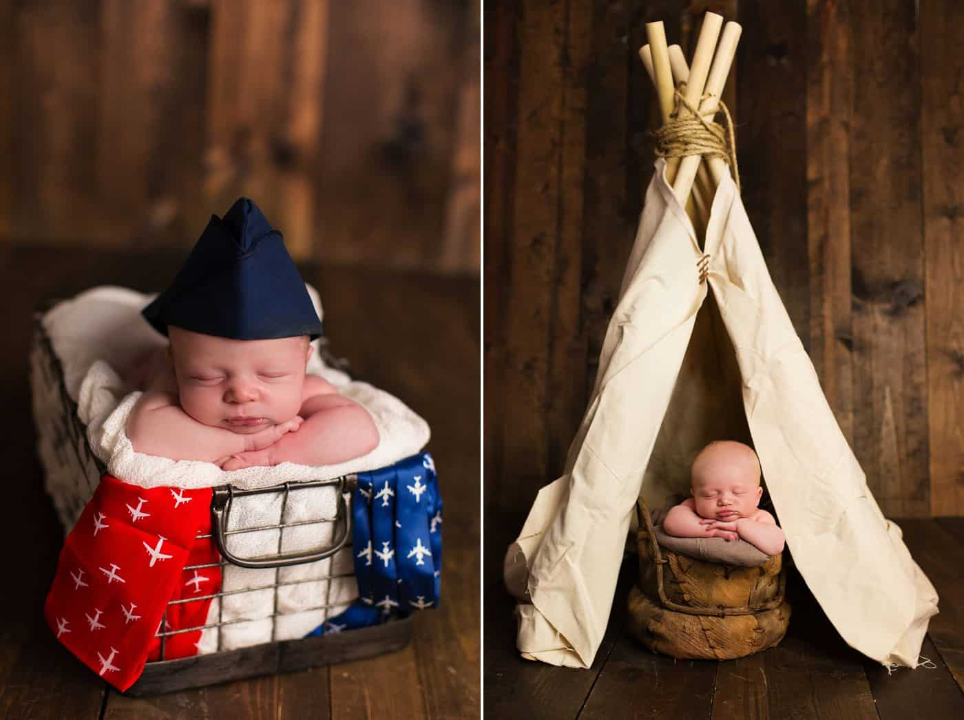 Newborn Props: How To Make Photos That Are Classy & Cute