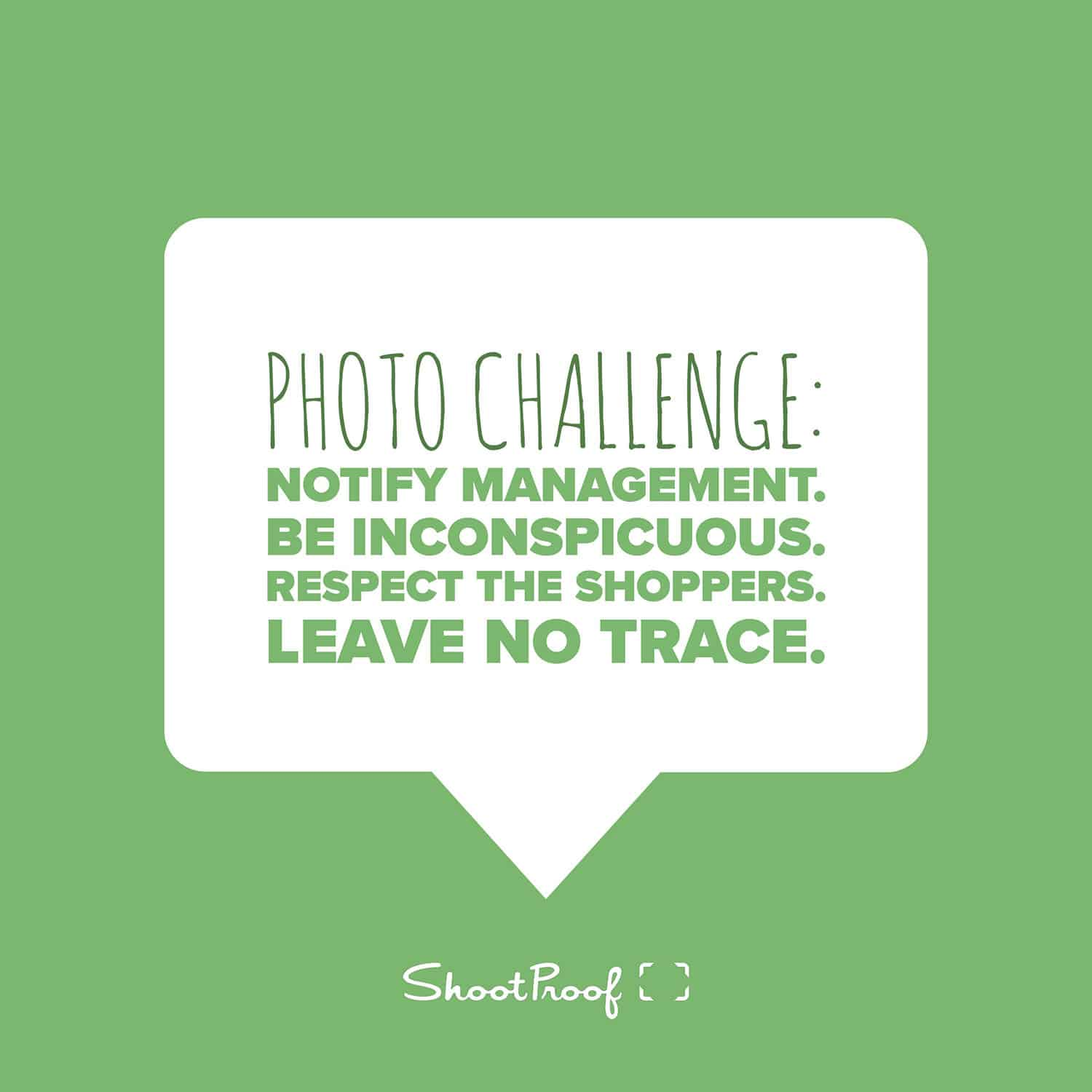 Craft Store Photo Challenge Tips