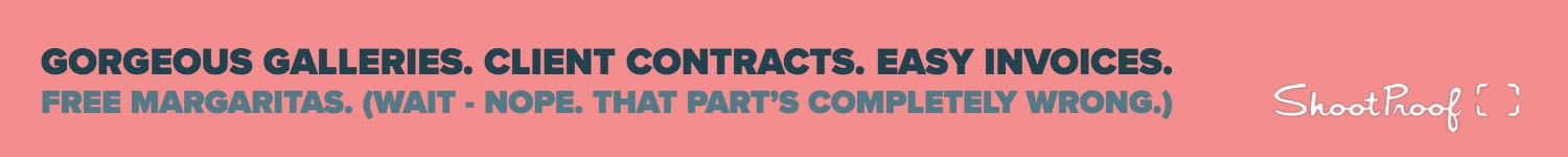 Gorgeous online galleries. Client contracts. Easy invoices.