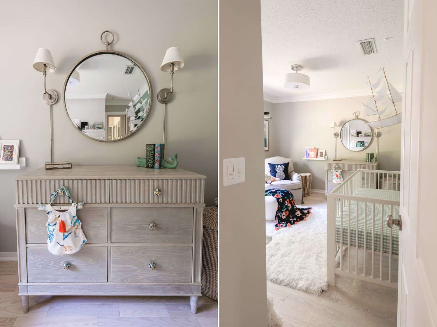 The Healing Work of Photographing Loss, Grief, & Pain: Baby Nursery Decor