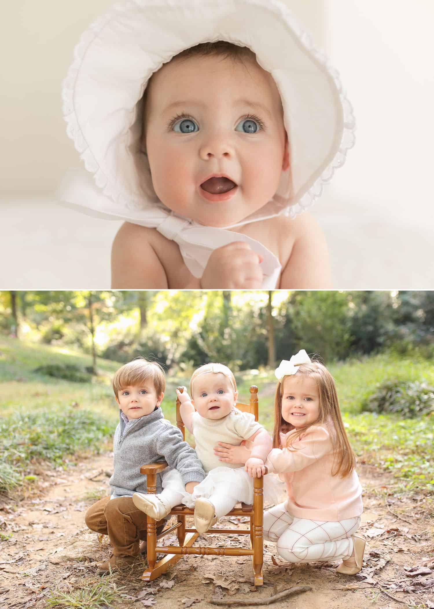 How To Get More Photography Clients? Start Saying No! - Child portraits in pastel by Jenny Perry.
