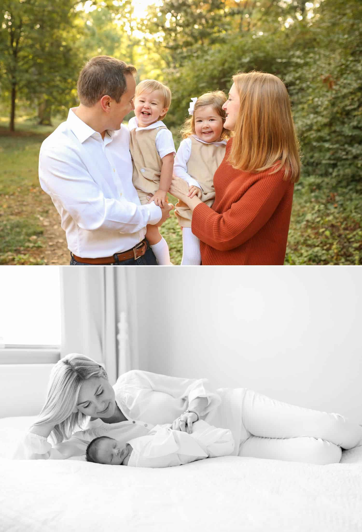 How To Get More Photography Clients? Start Saying No! - Relaxed family photographs by Jenny Perry.