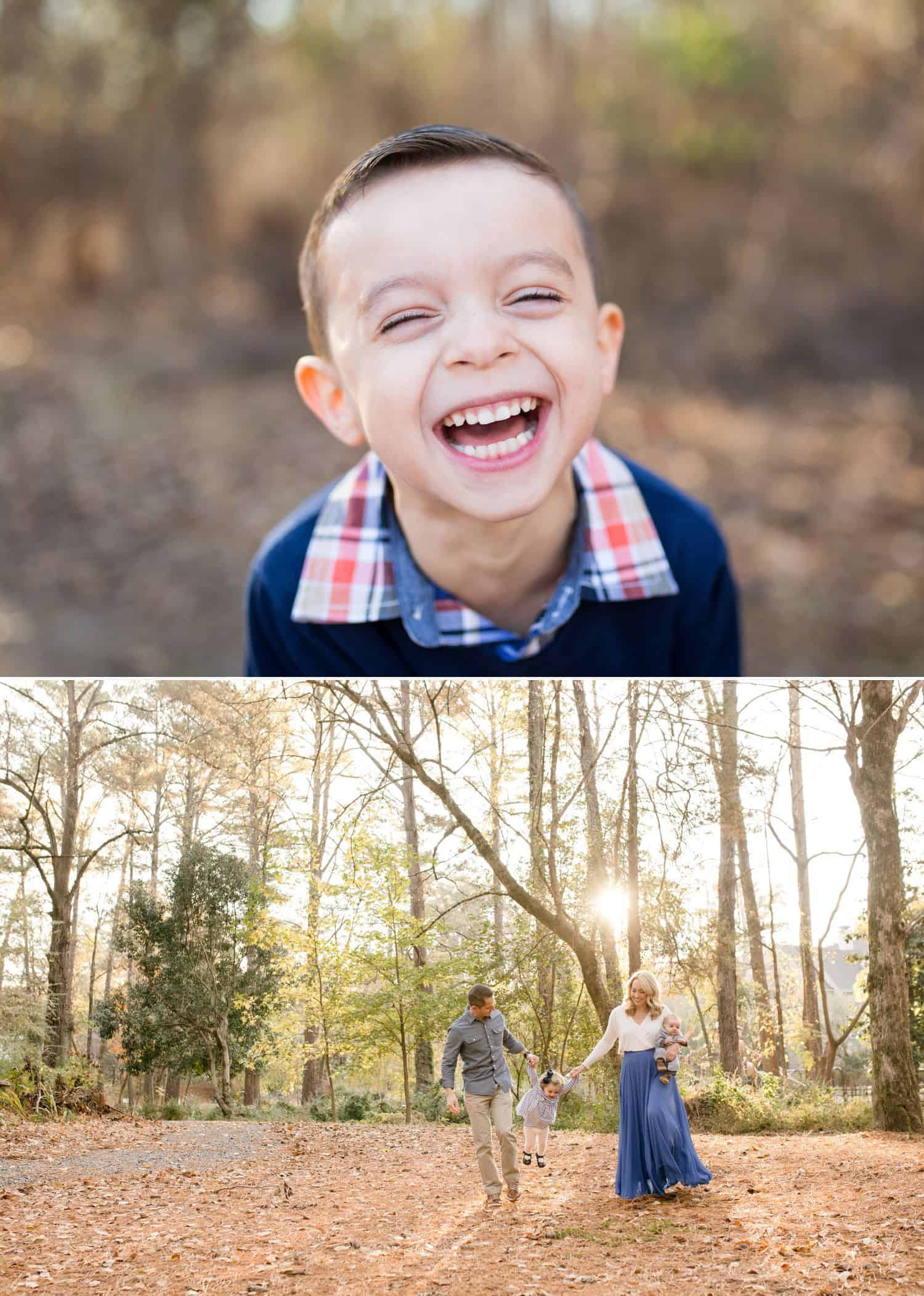 How To Get More Photography Clients? Start Saying No! - Outdoor child and family photography by Jenny Perry.