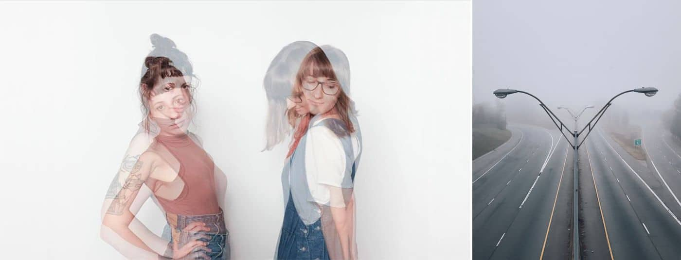 3 Simple Approaches To A Powerful Instagram Portfolio: Double Exposure of Two Women