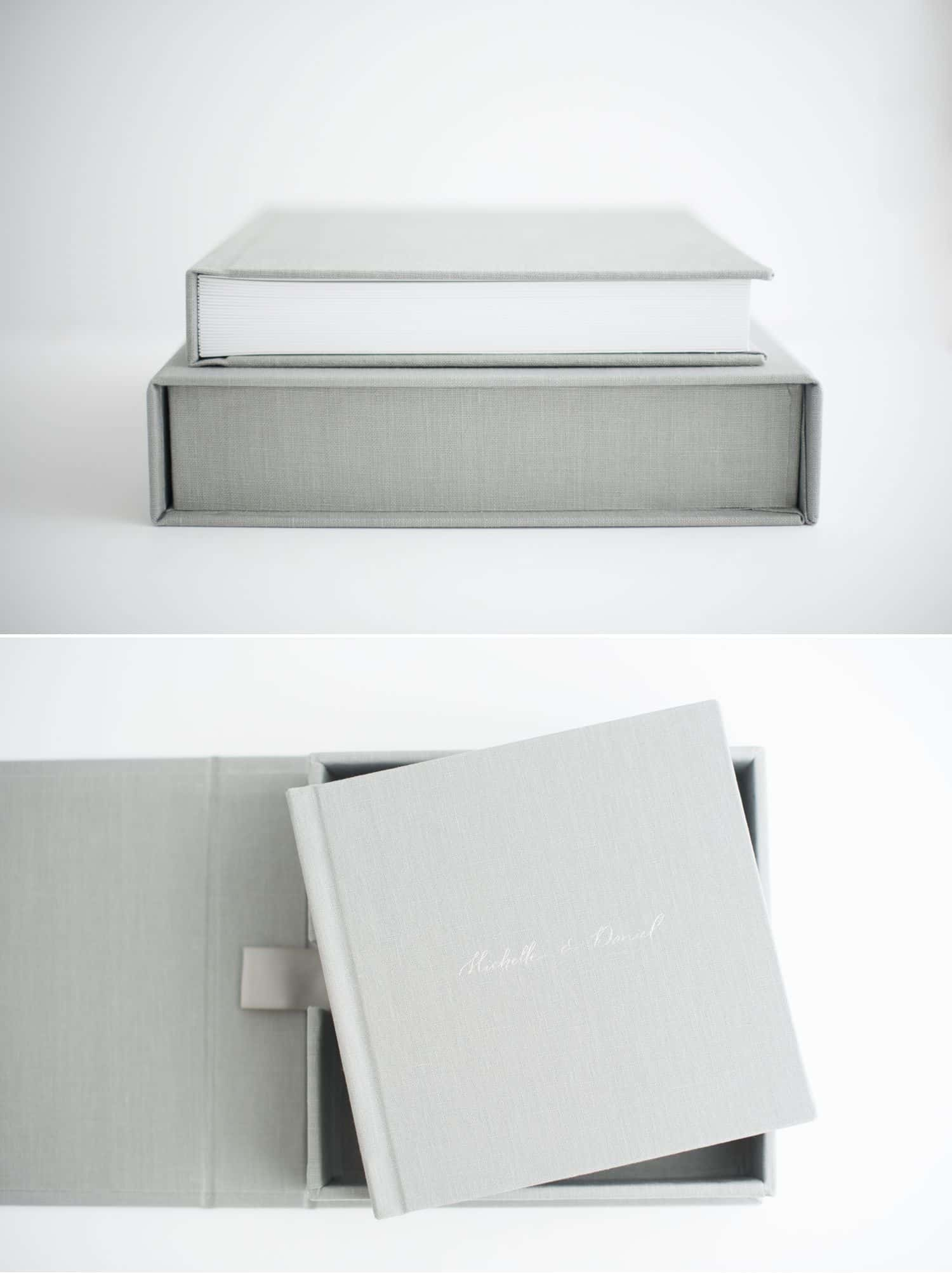You Think You Want A Logo. What You Need Is A Legacy. Linen Kiss Book with Case