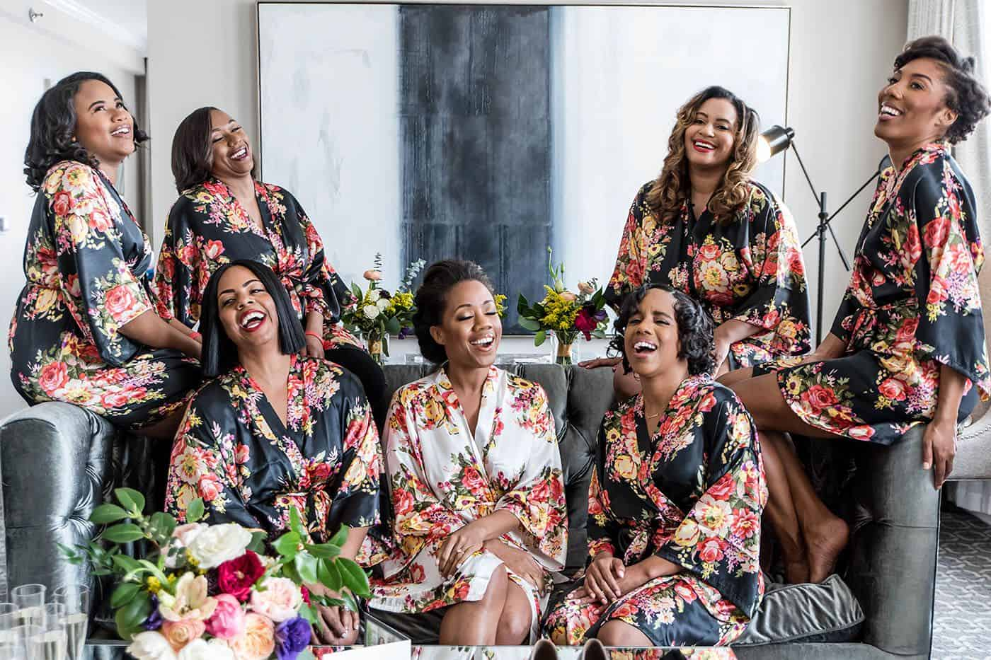 3 Simple Approaches To A Powerful Instagram Portfolio: Bridesmaids Laughing