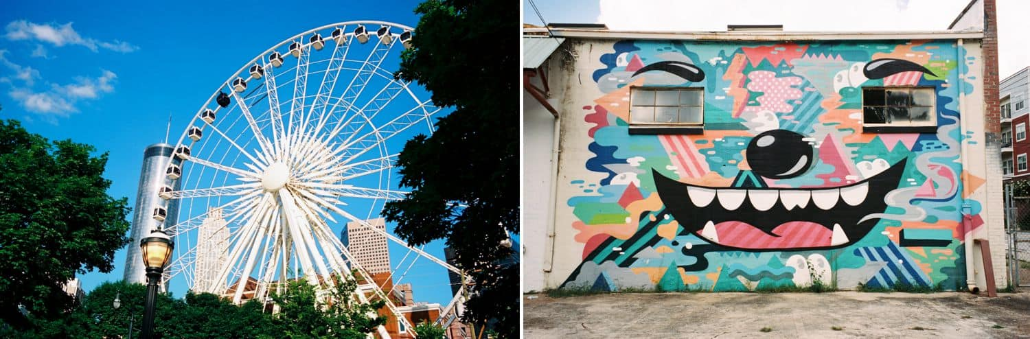 Expand Your Community, One Love Letter At A Time: Atlanta Graffiti & the Ferris Wheel