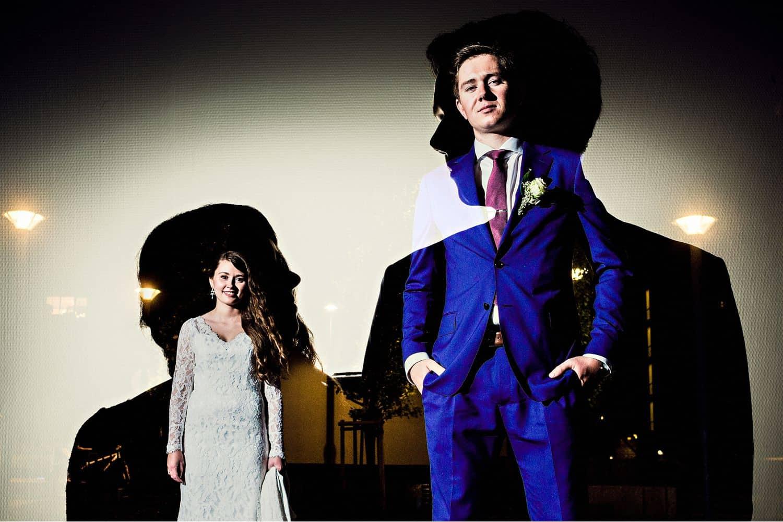 "Eirik Halvorsen: ""Your Last Photo Is the Most Important"": Creative Shadows Wedding Portrait"