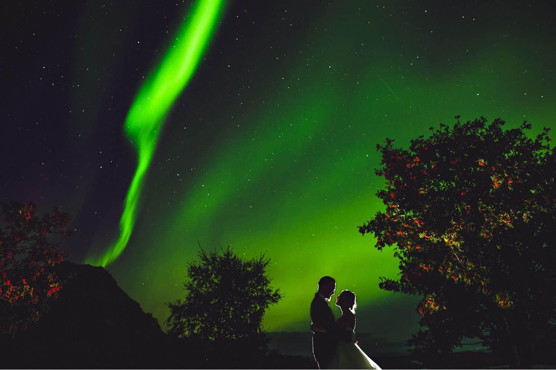 "Eirik Halvorsen: ""Your Last Photo Is the Most Important"": Aurora Borealis Wedding Portrait"