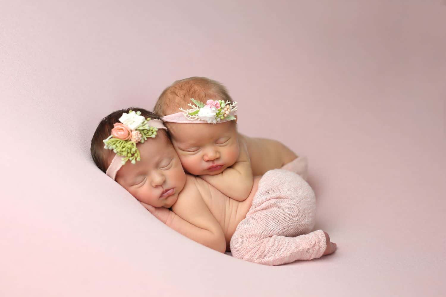 How To Attract New Clients In 3 Bold Business Moves: Twin newborns by Cassie Clayshulte