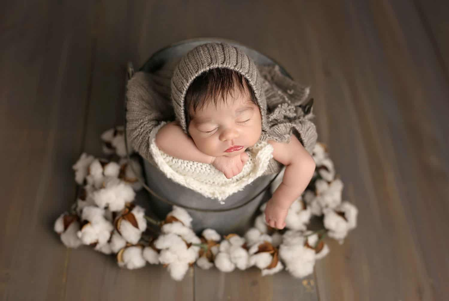 How To Attract New Clients In 3 Bold Business Moves: Baby in a basket by Cassie Clayshulte