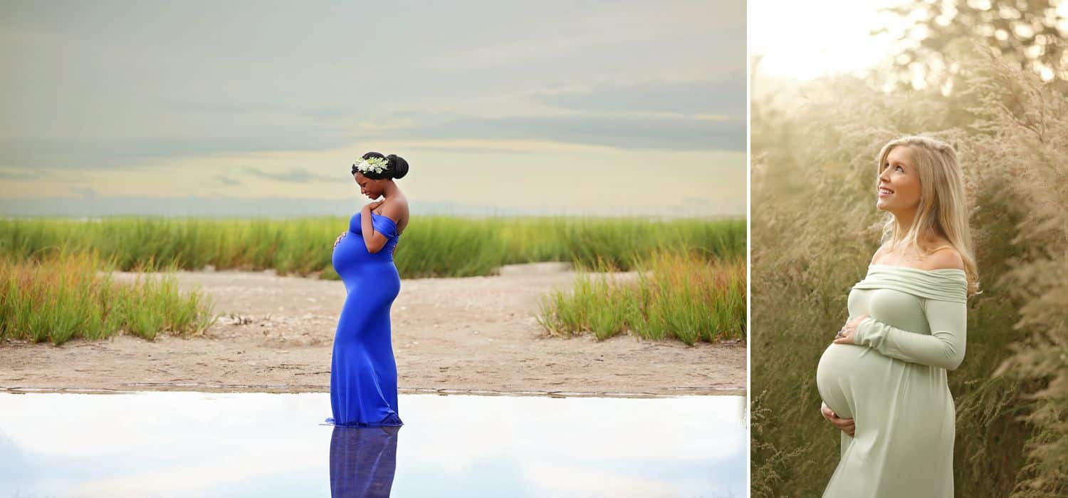 How To Attract New Clients In 3 Bold Business Moves: Maternity portraits by Cassie Clayshulte