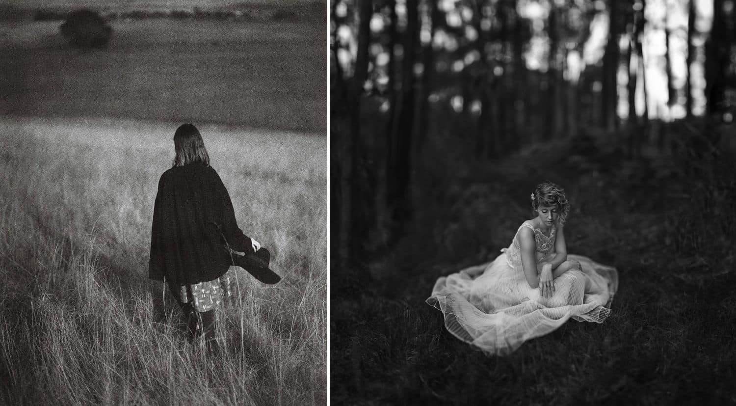 Authenticity Is Dead and Everything Is Wonderful: Cloaks & Wedding Dresses On Film By Oli Sansom