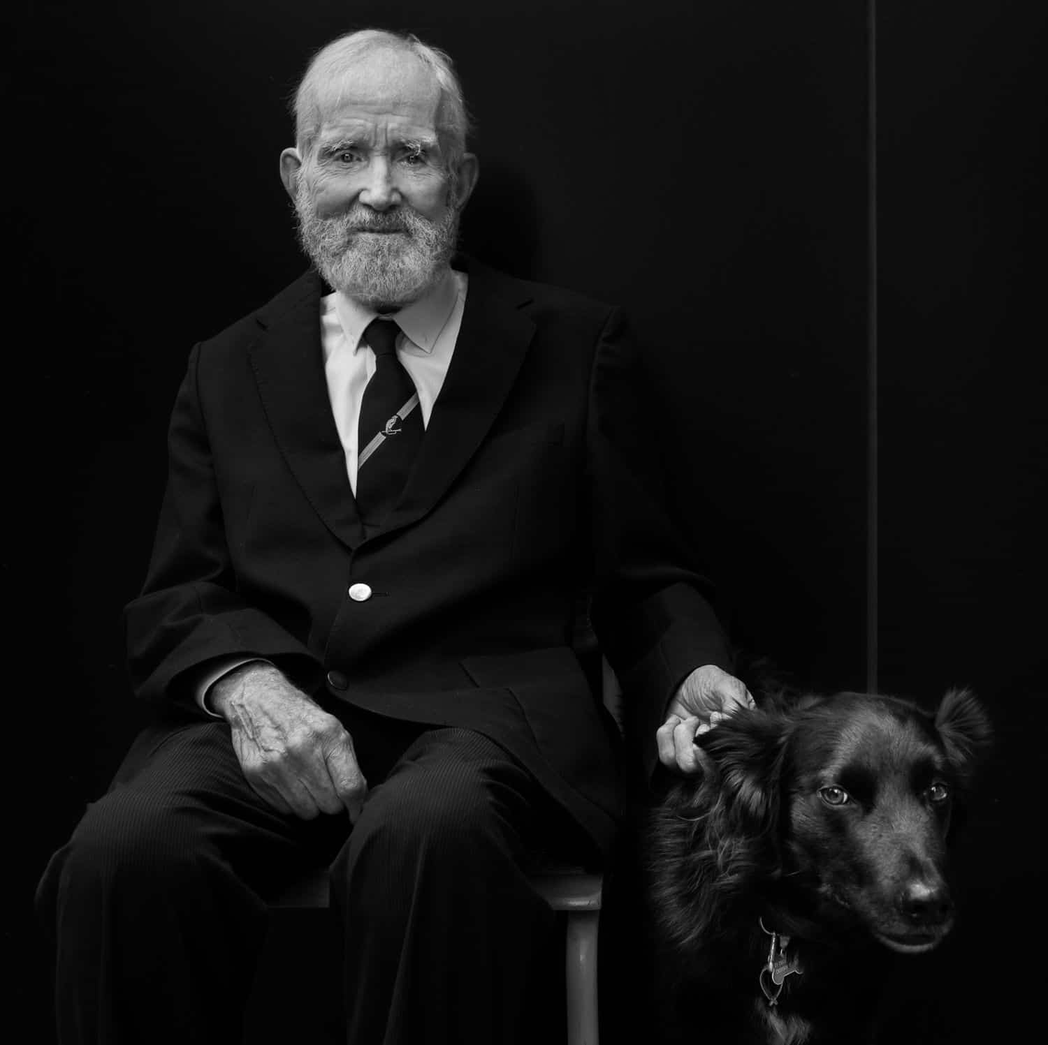 Authenticity Is Dead and Everything Is Wonderful: Oli Sansom's Portrait of A Man with His Dog