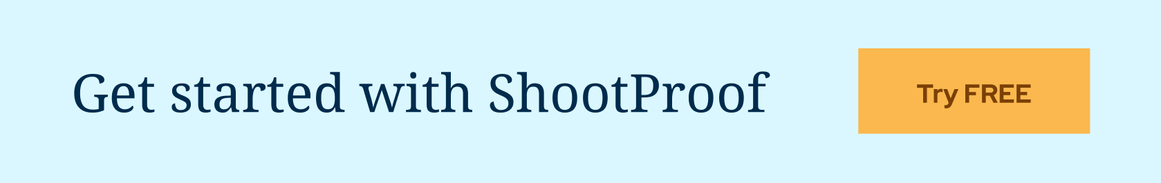 Start ShootProof today and create gorgeous online client galleries, photography contracts, and easy-to-pay invoices. Enjoy a 14-day FREE trial!