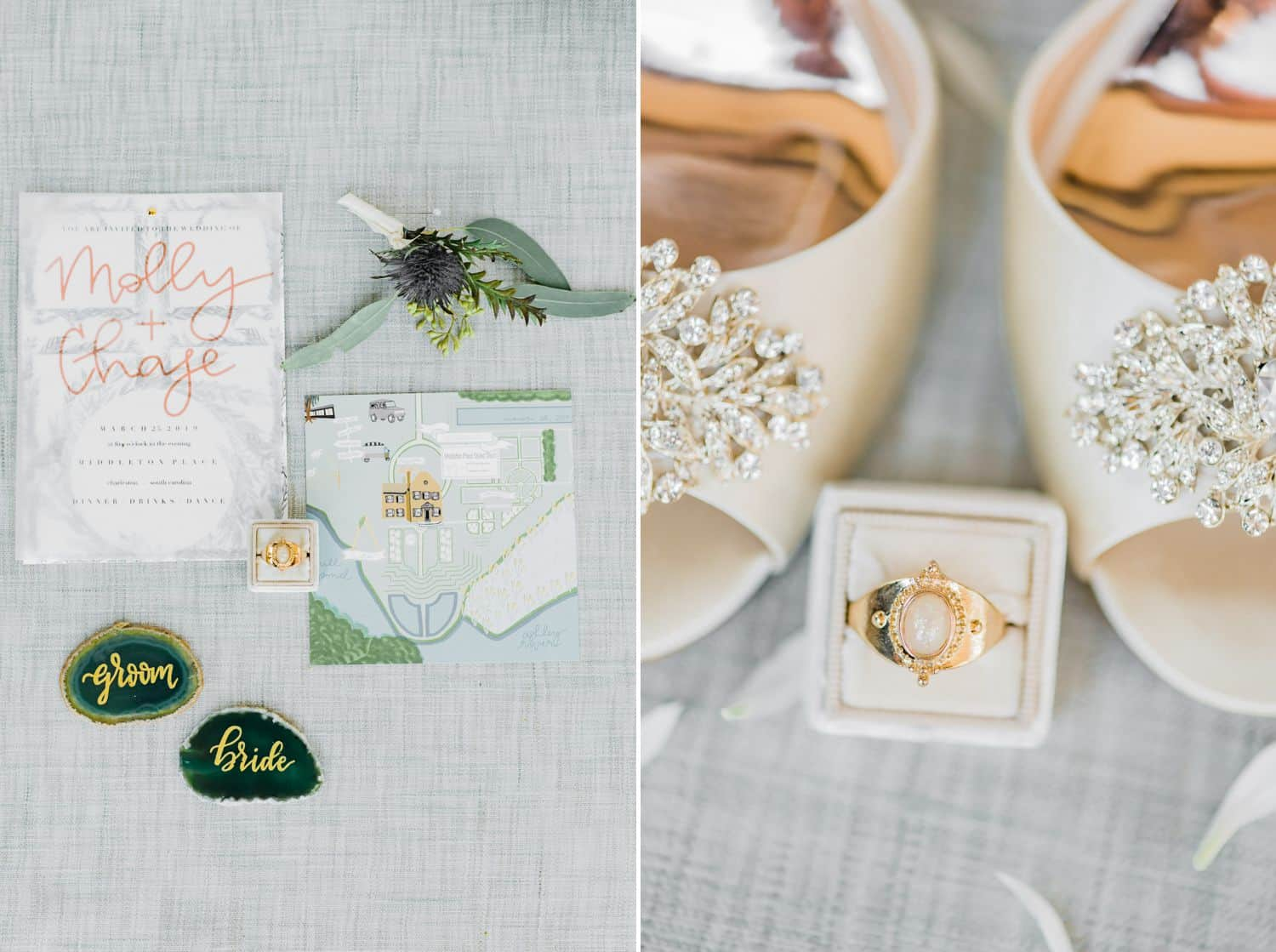 Botanical Wedding Details: Get Photography Clients with Styled Shoots