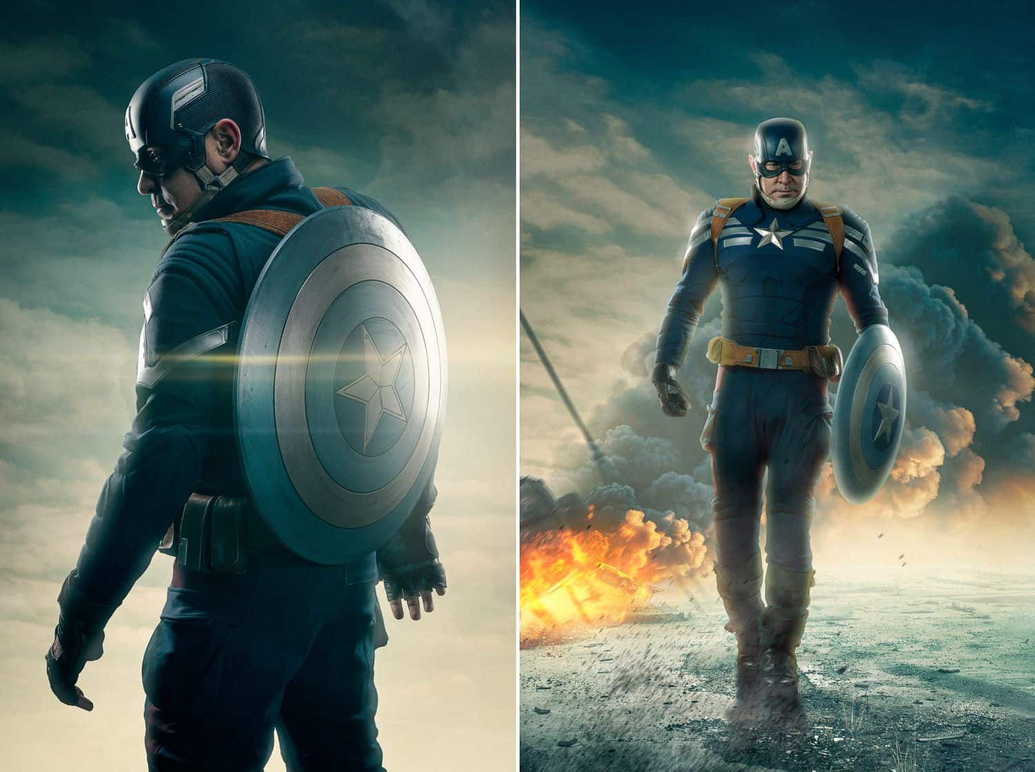 Freedom to create: Captain America cosplay with digital art by Ryan Sims