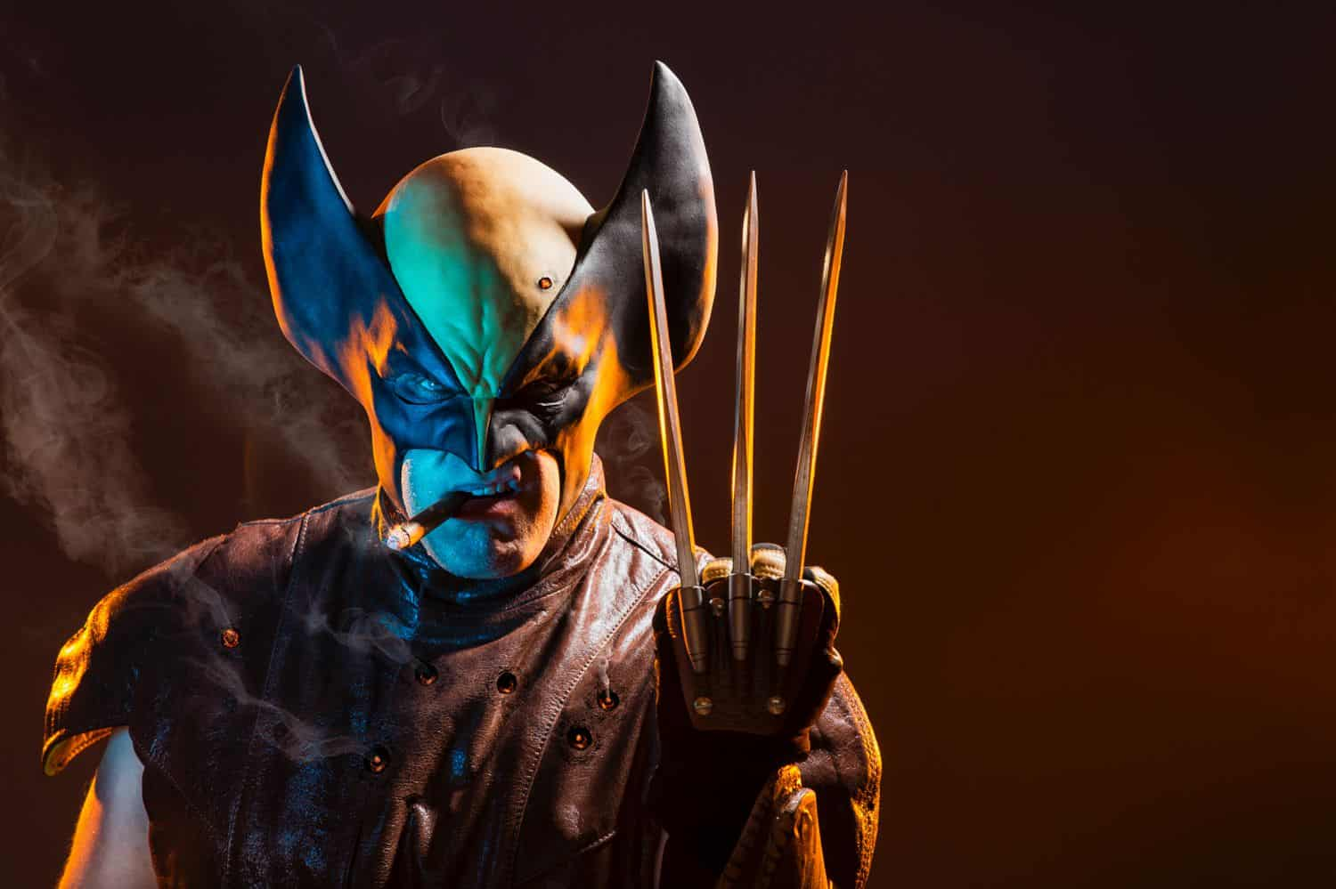 Freedom to Create: Wolverine cosplay with digital art by Ryan Sims