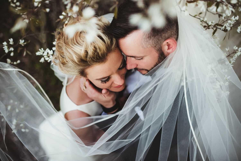 wedding portrait by Twig & Olive