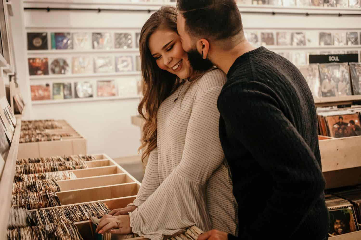 How to Talk to Clients When You're Terrified of the Telephone: record store engagement session