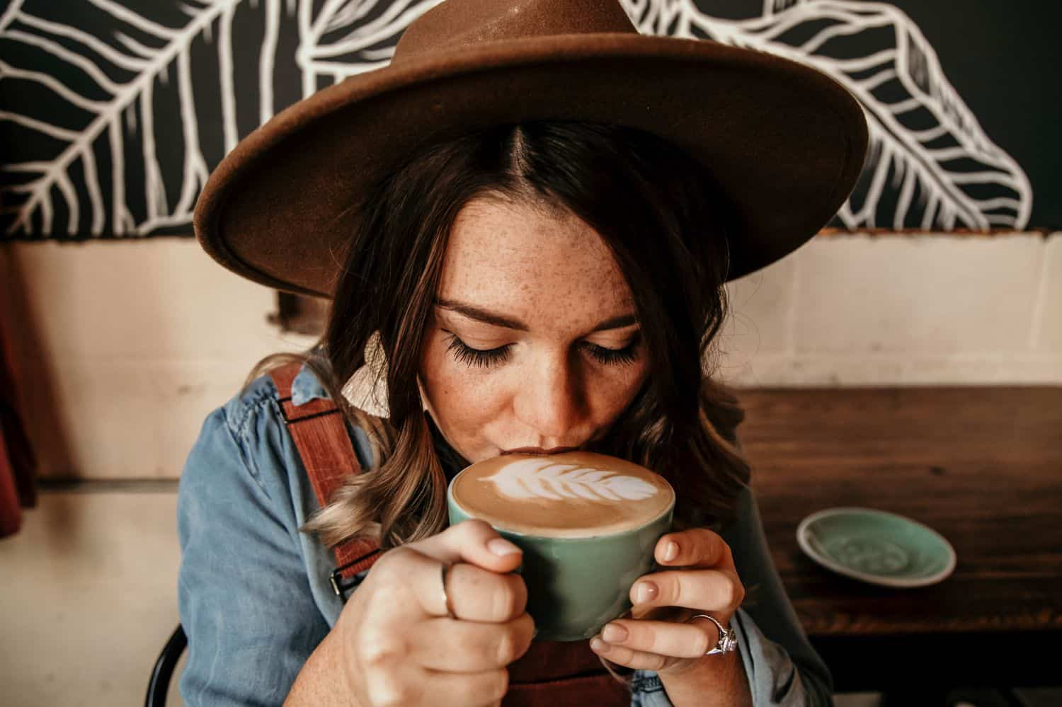 How to Talk to Clients When You're Terrified of the Telephone: Coffee shop senior session