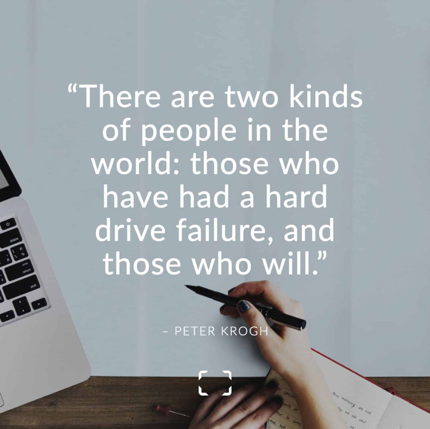 Peter Krogh quote