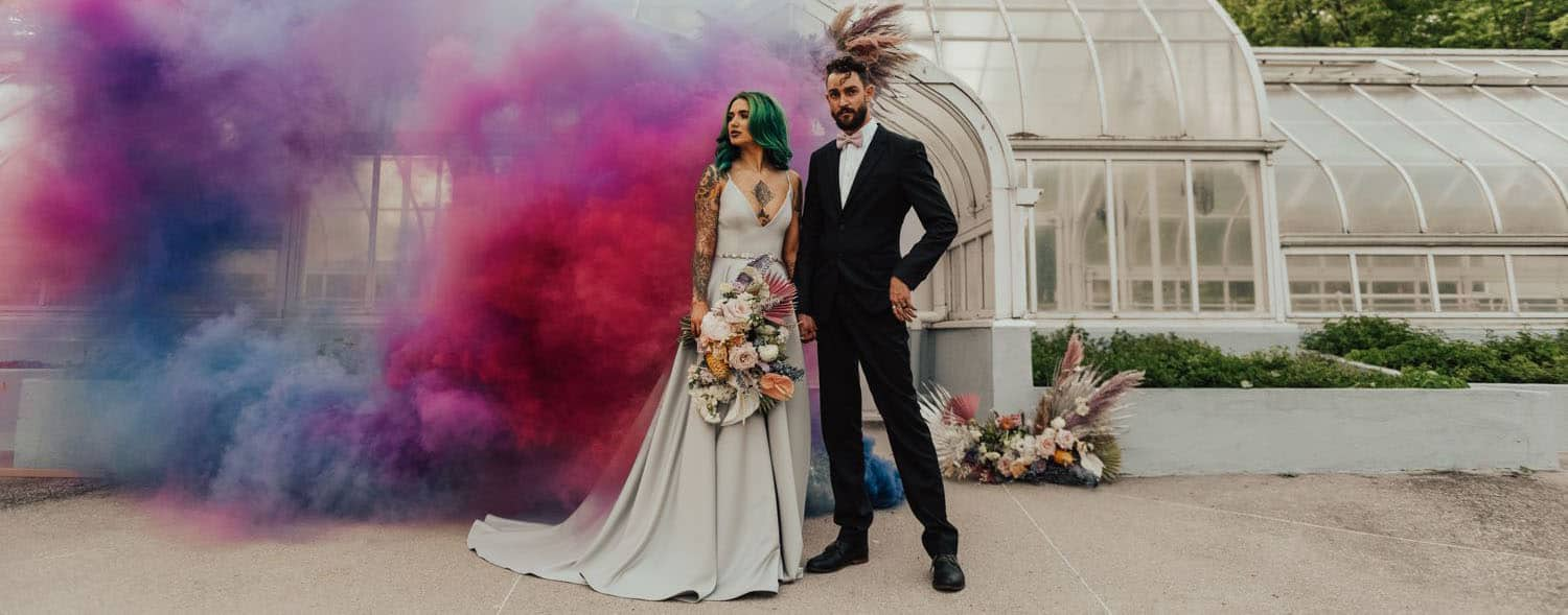 How to Make Sensational Smoke Bomb Photos