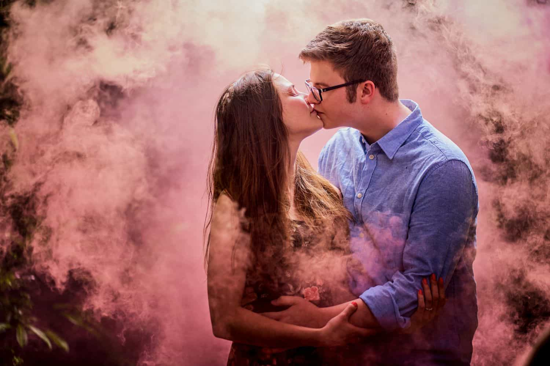 How to Make Sensational Smoke Bomb Photos