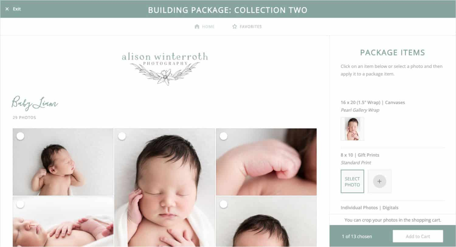 How to Sell Photography Packages with ShootProof Package Builder