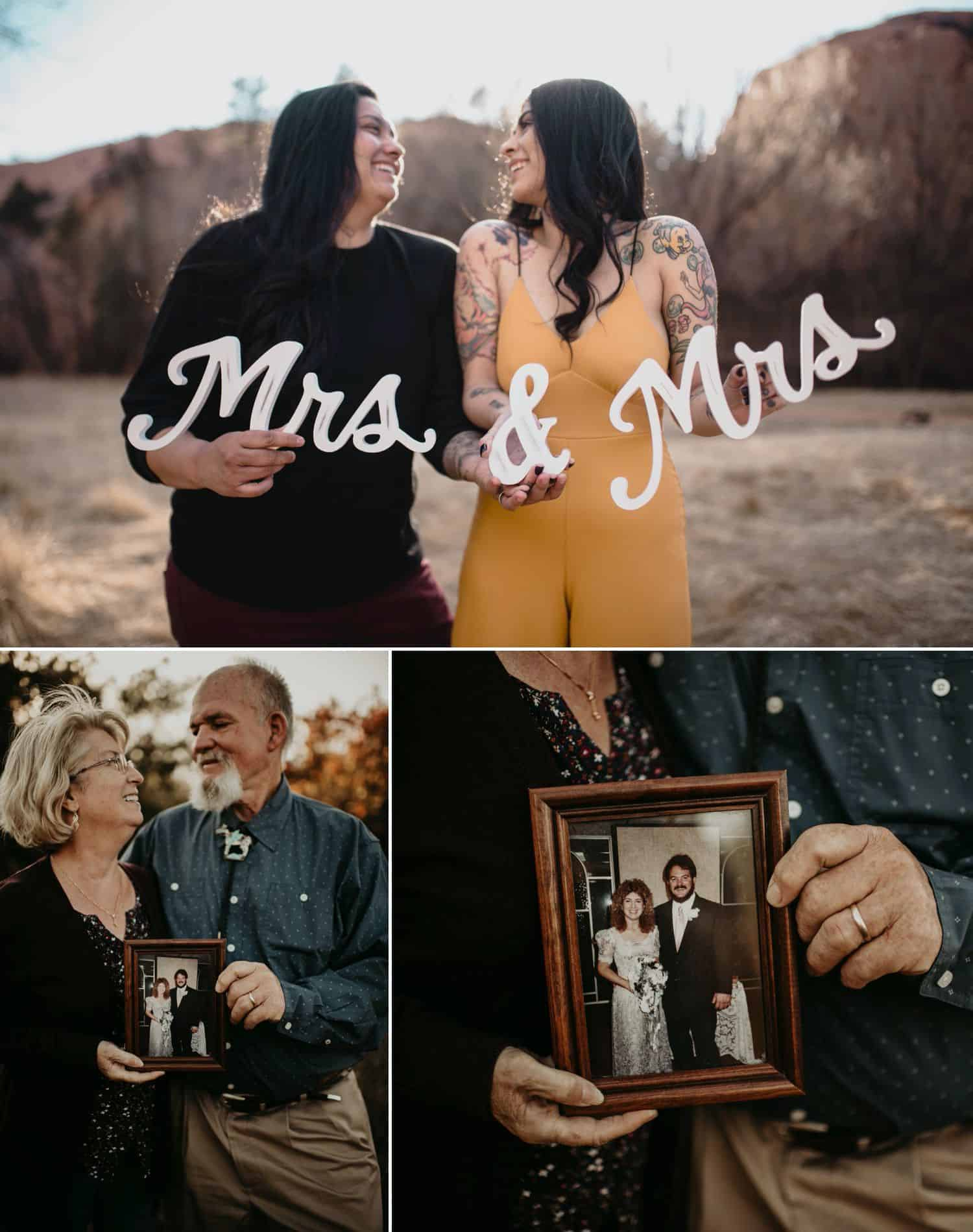 Thoughtful props can add an element of magic to any engagement session