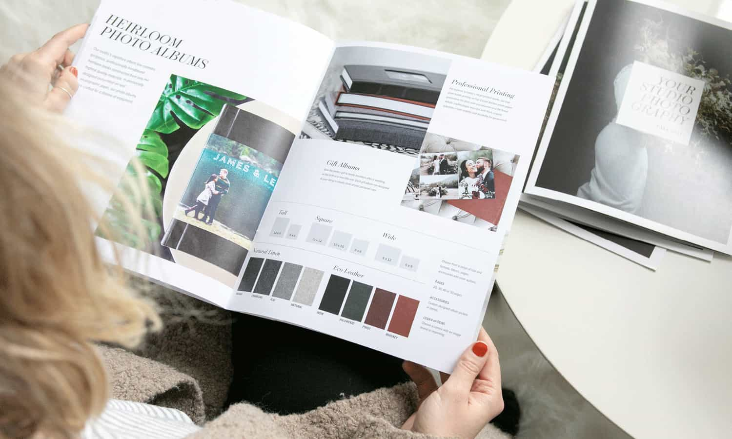 Lookbooks are some of Design Aglow's most popular photography marketing templates