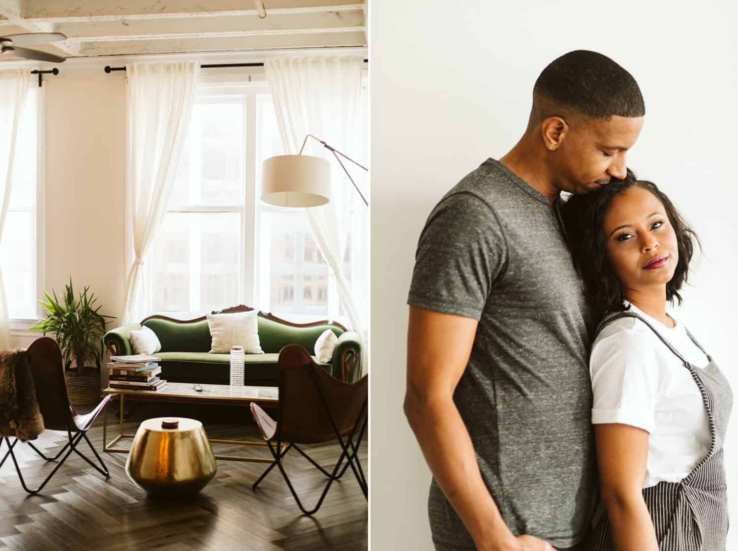 An Atlanta Airbnb and the Black couple who stayed there
