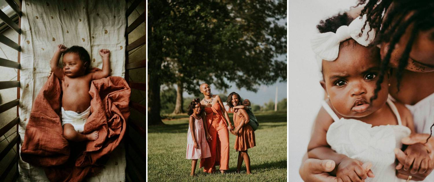 Photos: Traci Lester's photographs of Black babies, toddlers, and families