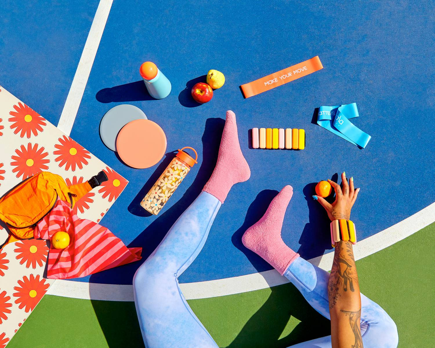 Photo: Tropico's brightly-colored photographs depict products and people like never before