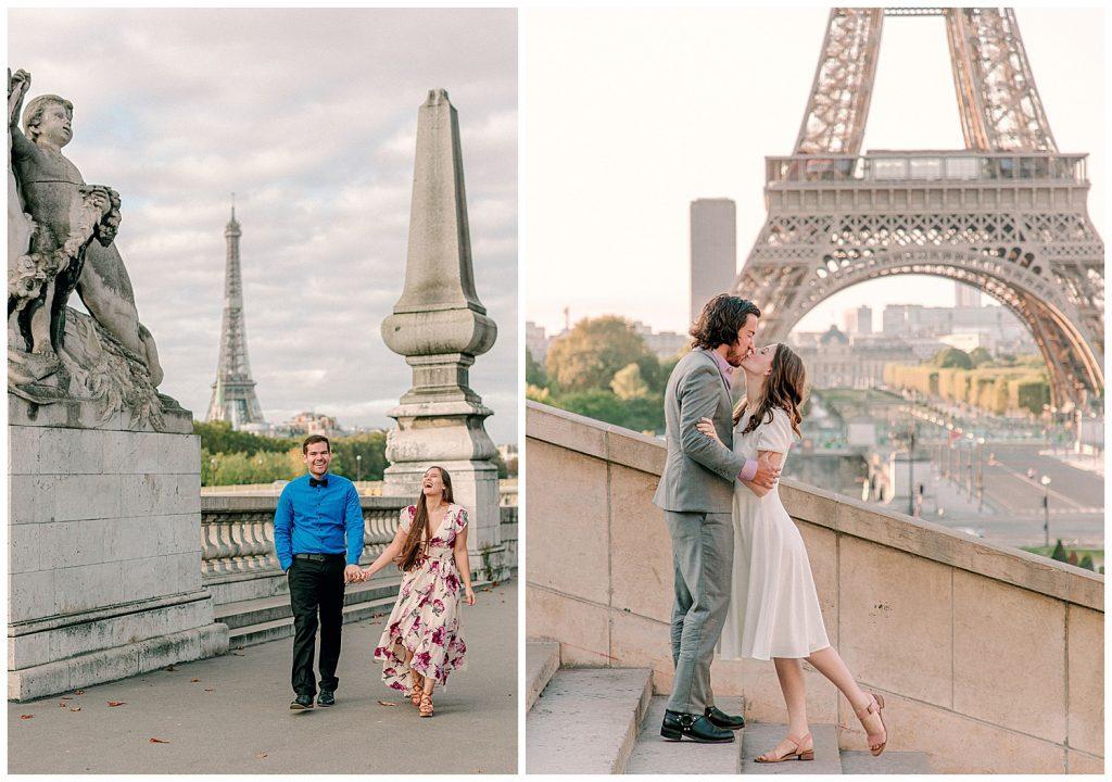 couples in Paris